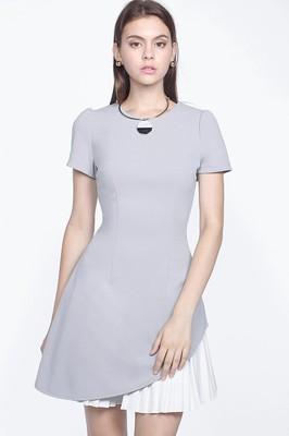 Leighton Pleated Dress