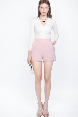 Penny Scallop Shorts