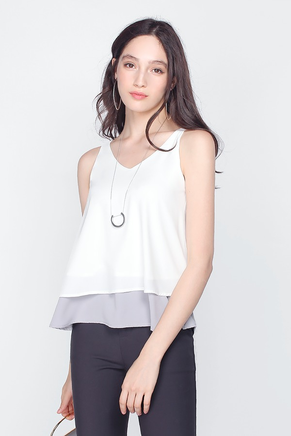 Majorca Colour Block Top