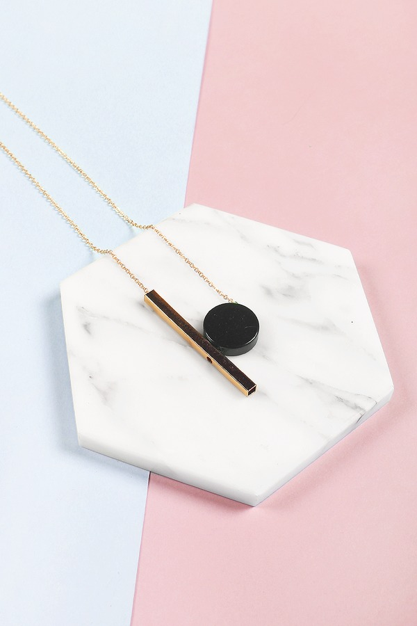 Nexia Geometric Necklace