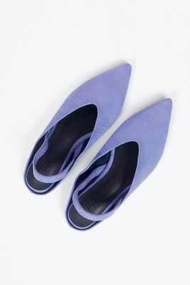 Minton Pointed Suede Flats
