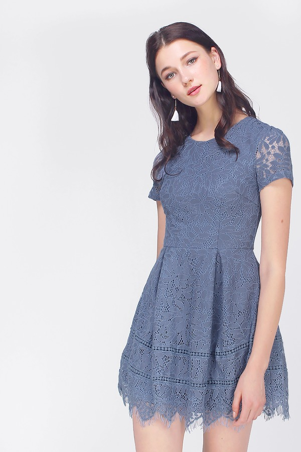 Dawn Lace Skater Dress