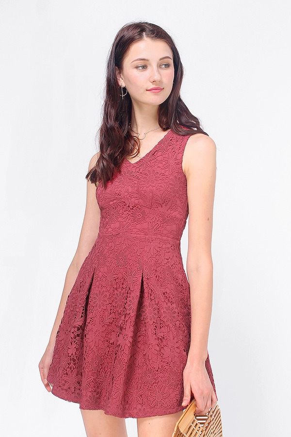 Kerrie Crochet Swing Dress
