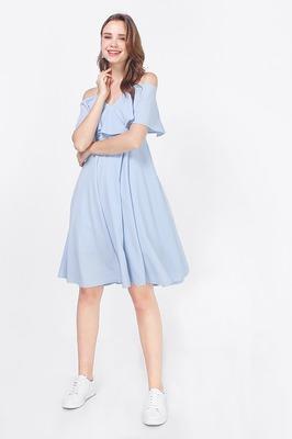 Elisa Cold Shoulder Dress