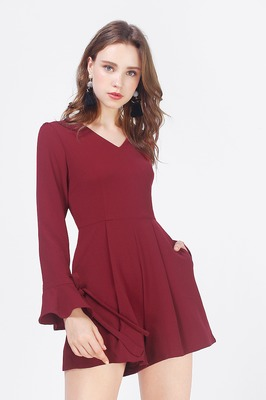 Kimberly Bell Sleeve Playsuit