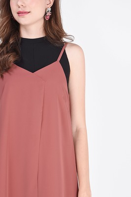 Beverly Asymmetric Slip Dress