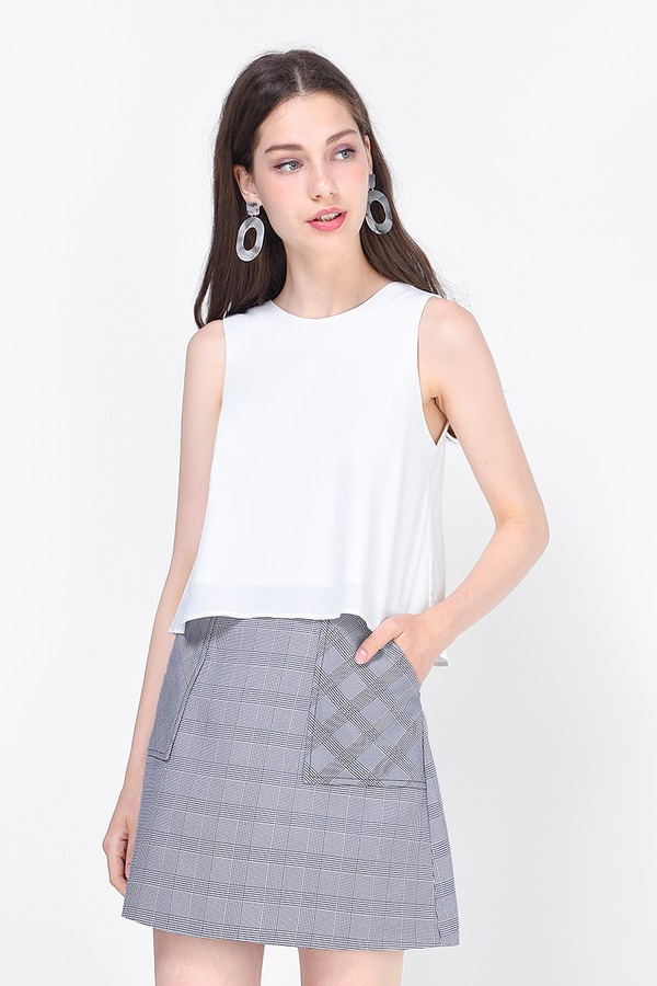 Kyser Checkered Skirt