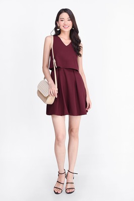 Brenda Double Layer Dress