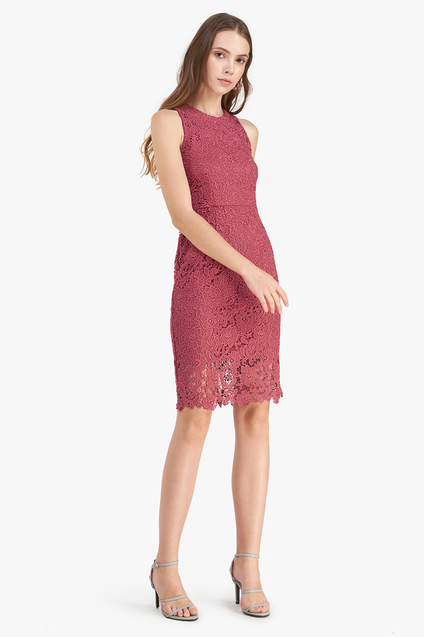 Zoey Crochet Pencil Dress