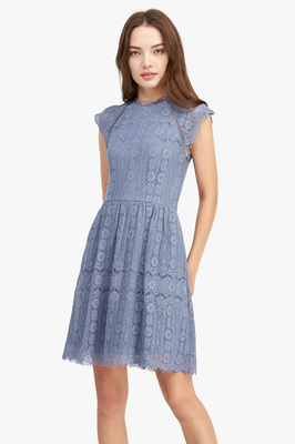 Leila Lace Skater Dress
