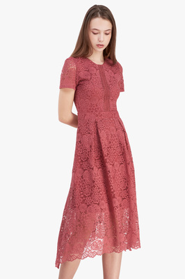 Alice Lace Midi Dress