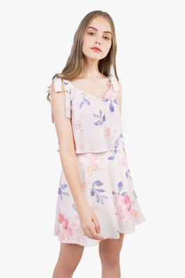 Jardin Tie Shoulder Dress