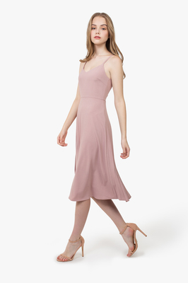 Carlie Pleated Midi Dress