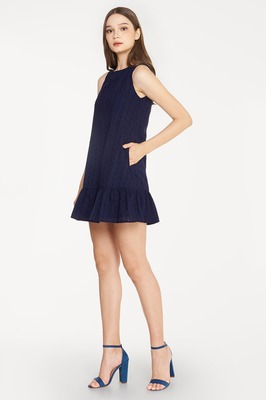 Cynthia Reversible Broderie Dress