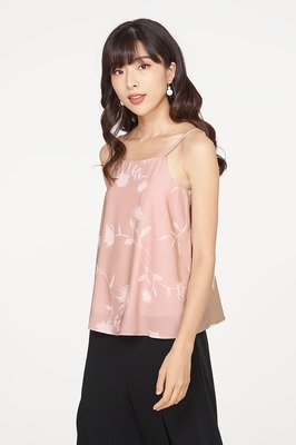 Silhouette Floral Cami Top