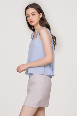 Frolic Knot Back Top