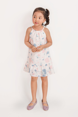 KIDS Agate Gathered Dress