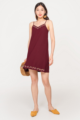 Serendipity Embroidered Cami Dress