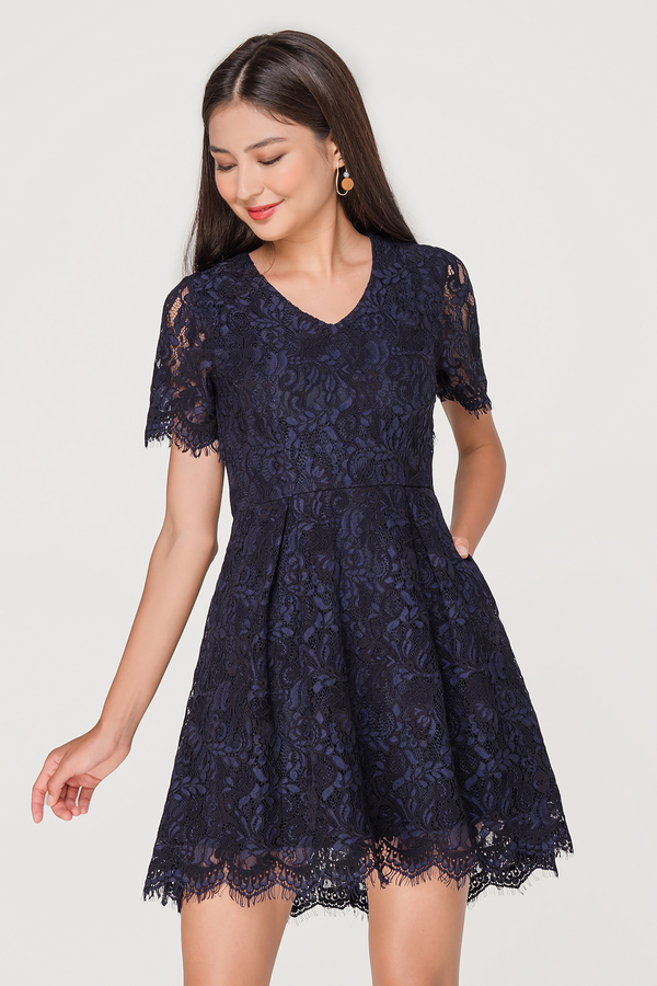 Laura Cut Out Lace Dress