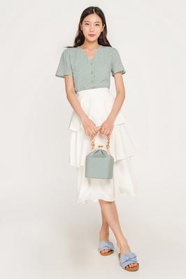 (Backorder) Icing Layered Midi Skirt