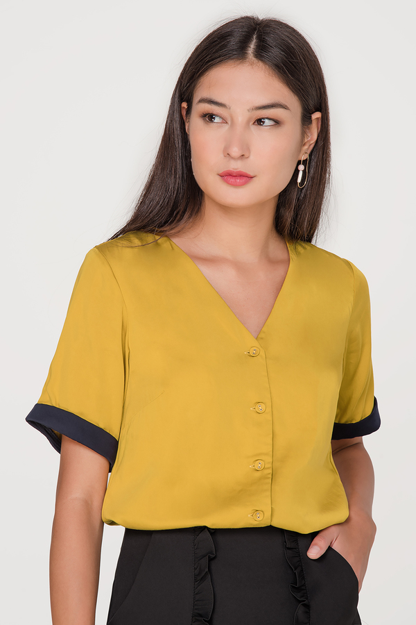 Soraya Button Blouse