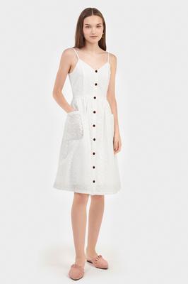 Laela Eyelet Dress