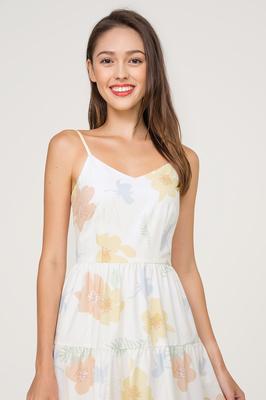 Midsummer Tiered Midi Dress