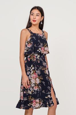 Alysse Floral Midi Dress