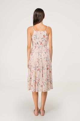 Bellarose Tiered Midi Dress