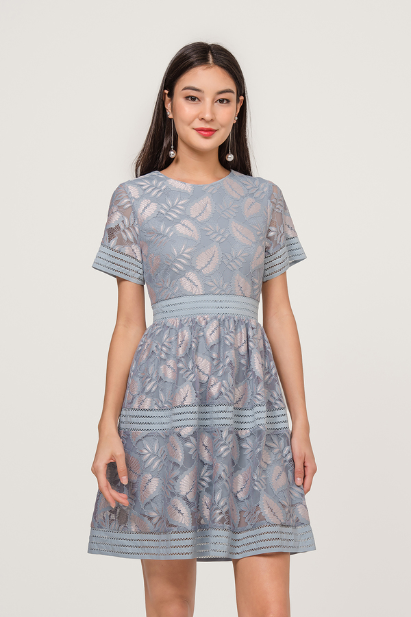 Dakotah Lace Panel Dress